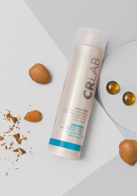 Dettaglio Shampoo Igienizzante CRLAB