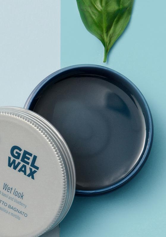 Scopri Cera Lucida CRLAB Gel Wax effetto bagnato con basilico e mirtillo