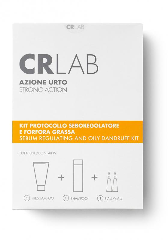 Kit Azione Urto Seboregolazione capelli CRLAB