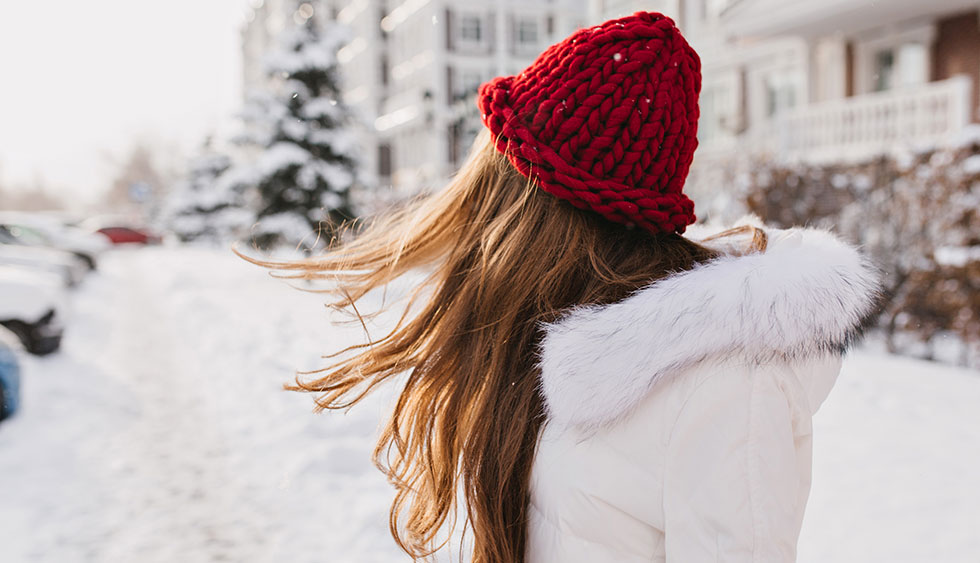 Inverno e capelli