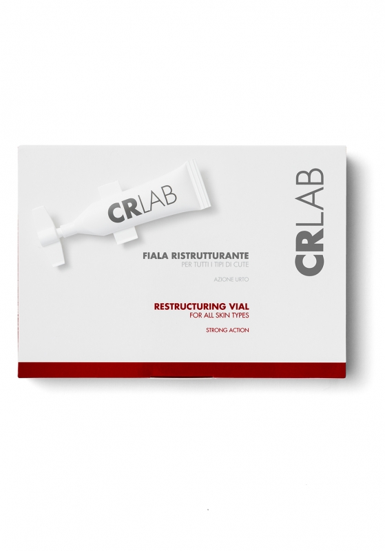 Fiala Ristrutturante Capelli di CRLab per tutti i tipi di cute - Azione Urto